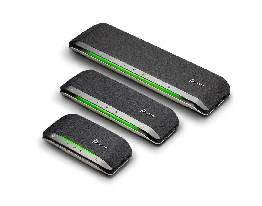 Poly博诣Sync三兄弟全新智能扬声器,身临其境的会议体验犹如面对面沟通,开会、手机充电他都行,Sync20,Sync40,Sync60等你来体验