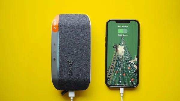 最佳出差伴侣poly sync20,岂止是会议音箱,还是充电宝