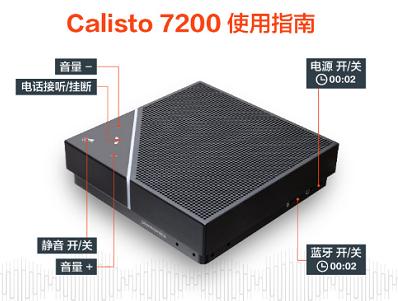 小会议高效率 缤特力Calisto7200蓝牙扬声器来袭 | 小型电话会议最佳搭档